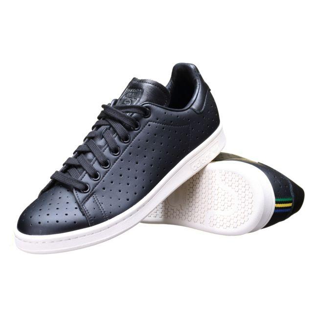 Adidas Chaussure Stan Smith S75077 Noir pas cher Achat
