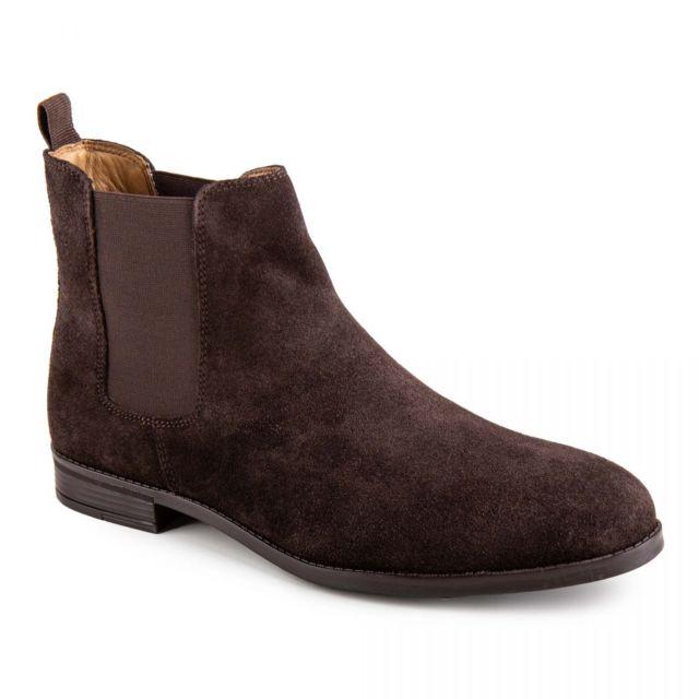 2f906fac2fa Mason   Freeman - Bottines en daim homme Mark - pas cher Achat   Vente Boots  homme - RueDuCommerce