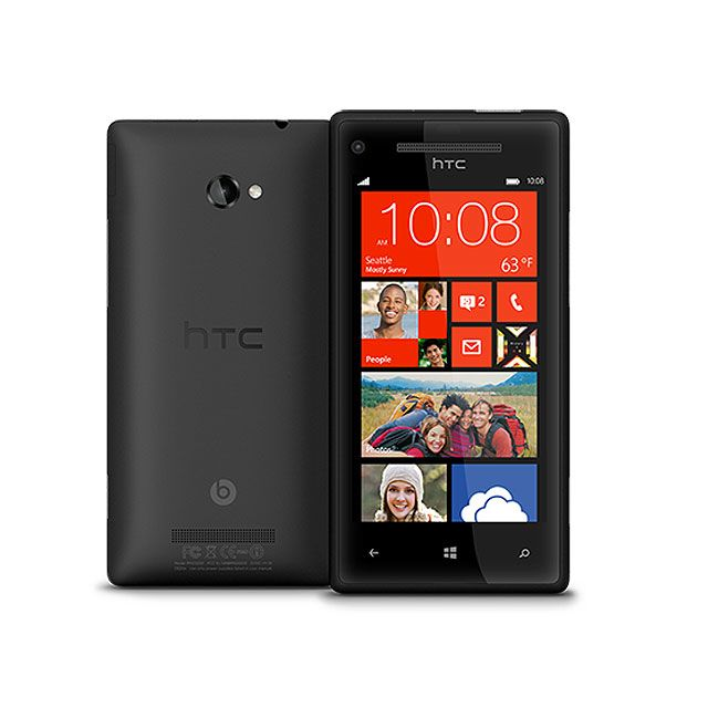 Htc - Windows Phone 8X Noir