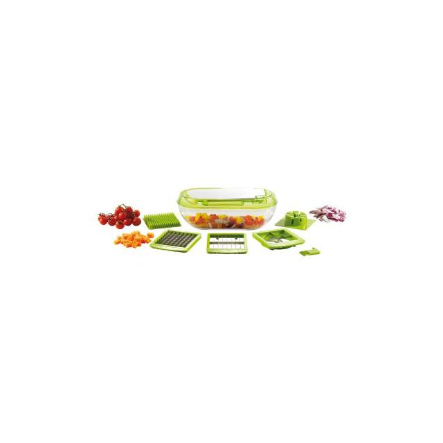 Kitchen Artist Coupe fruits et légumes 3 grilles Men318