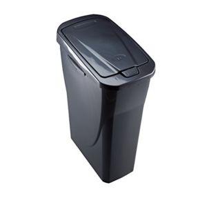 mondex poubelle tri s lectif gris m tal 15 l pls8080 31cm x 20cm x 42cm x 20cm pas. Black Bedroom Furniture Sets. Home Design Ideas