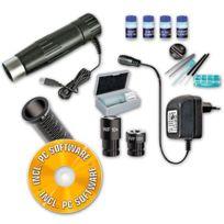 Bresser - Kit microscope 40x-1024x avec oculaire usb