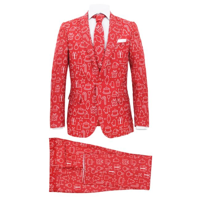 sélectionner pour plus récent les mieux notés dernier officiel de vente chaude Costume 2 pièces Noël et cravate Homme Taille 50 Cadeaux Rouge - Vêtements  - Costumes et tailleurs - Homme | Rouge | Rouge