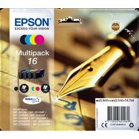 EPSON - Multipack Cartouches Stylo à plume Noir - Couleurs - Encre Durabrite