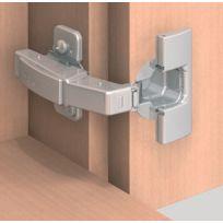 Blum - Clip Top Ouverture 95° Pour Fixation Dans Le Prolongement De La Porte - Pour Porte Encastree - Réf. : 79T9550 / Type de boitier : A Visser