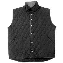 Ride & Sons - Thermal Vest Black