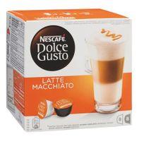 Dolce Gusto - Café Nescafé Latte Macchiato en dosette pour - Boîte de 16