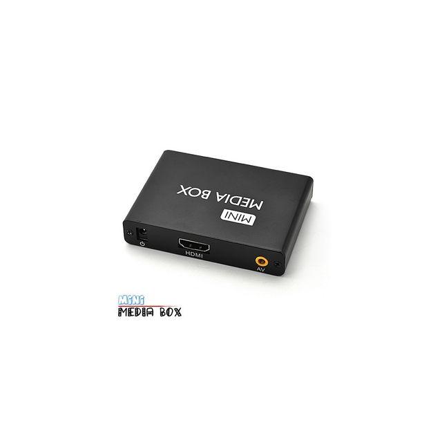 Auto-hightech Lecteur multimédia haute définition 1080P Hdmi Av Carte Sd clé Usb