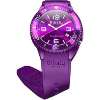 Thirsty Watch - Montre homme o? femme Thirsty Plum unisex Bo-plum