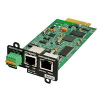 Eaton - Network Card-MS - Carte de supervision distante - 10Mb Lan, 100Mb Lan, Rs-232 - pour Pw9135G6000-XL3U; 5PX 1000, 1500, 2200, 3000, 3000 3U Rack Tower Lcd
