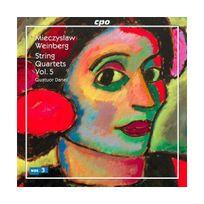Cpo - Intégrale des Quatuors vol.5 : nos 1, 3, 10 & Aria op. 9, Capriccio op. 11