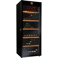 Avintage - Cave à vin multi-usages - Multi-Températures - 264 bouteilles - Noir Aci-avi434 - Pose libre