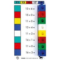 Vinco Educational - lot de 6x5 fiches d'exercices niveau 1