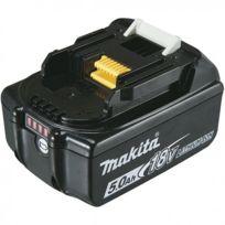 Makita - Batterie Bl1850B Li-Ion 18V / 5 Ah témoin de charge intègré