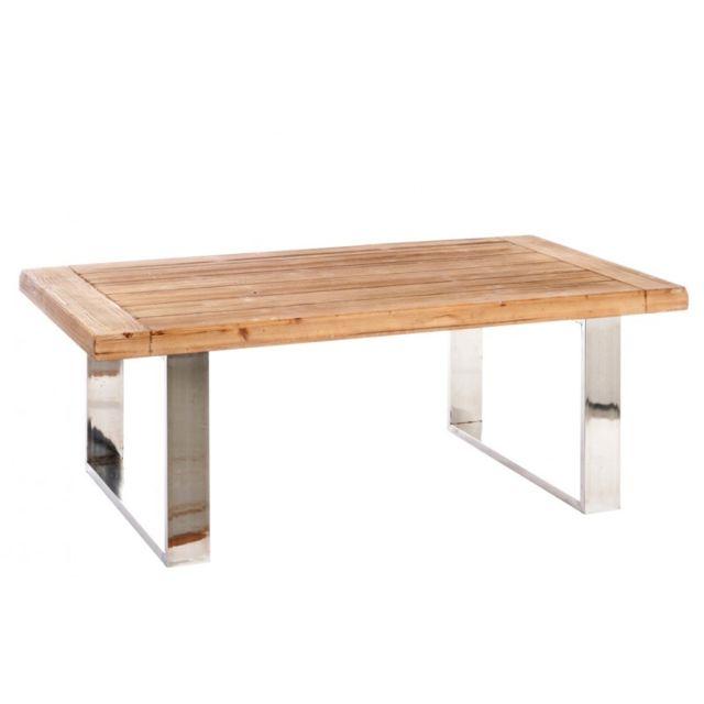 J-line de table basse Marron