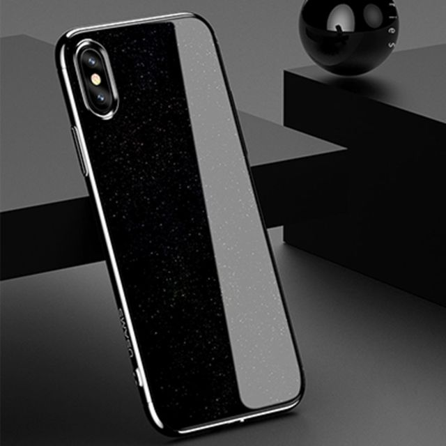 iphone x coque metalique