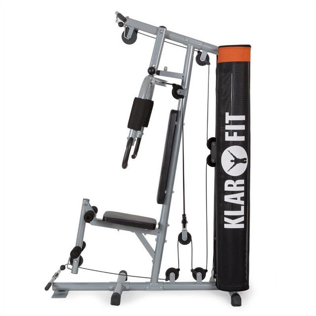 KLARFIT - The Mountain Station Fitness Latissimus gris