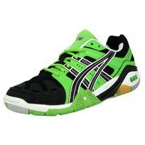Asics - Gel Cyber Power Chaussures de Sport Homme Vert Noir