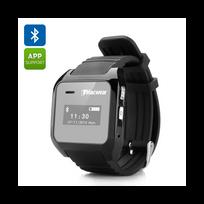 Auto-hightech - Bracelet montre connectée Bluetooth Sms Contact Appel entrant sortant Pédomètre Historique des appels