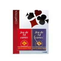 France Cartes - 2 Jeux de 54 cartes