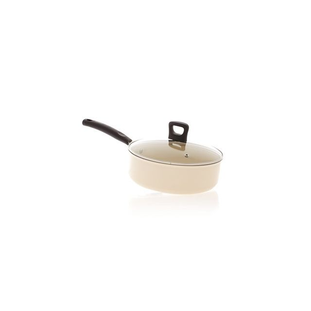 Tefal Sauteuse 24cm ceramic induction + Couvercle - Ceramic