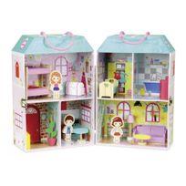 Vilac - Maison de poupée en valise