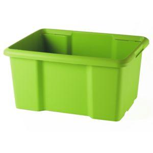 sundis bac en plastique 15 litres vert nc pas cher achat vente bo te de rangement. Black Bedroom Furniture Sets. Home Design Ideas