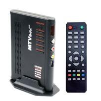 Wewoo - Mini Pc Android Tv Box noir Tv Hd 1920x1200 avec télécommande, Tv Pal-bg + Pal-dk