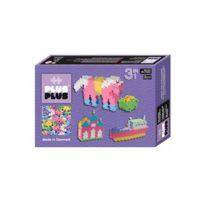 Plusplus - Box 3 en 1 Mini Pastel - 480 pièces