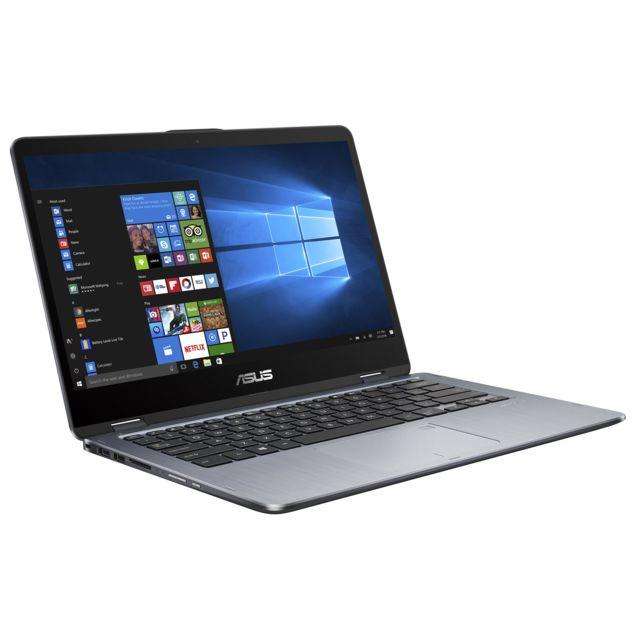 ASUS - VivoBook Flip TP410UR-EC149T - Gris