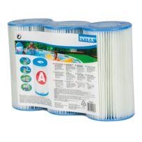 Intex - Lot de 3 Cartouches de filtration A