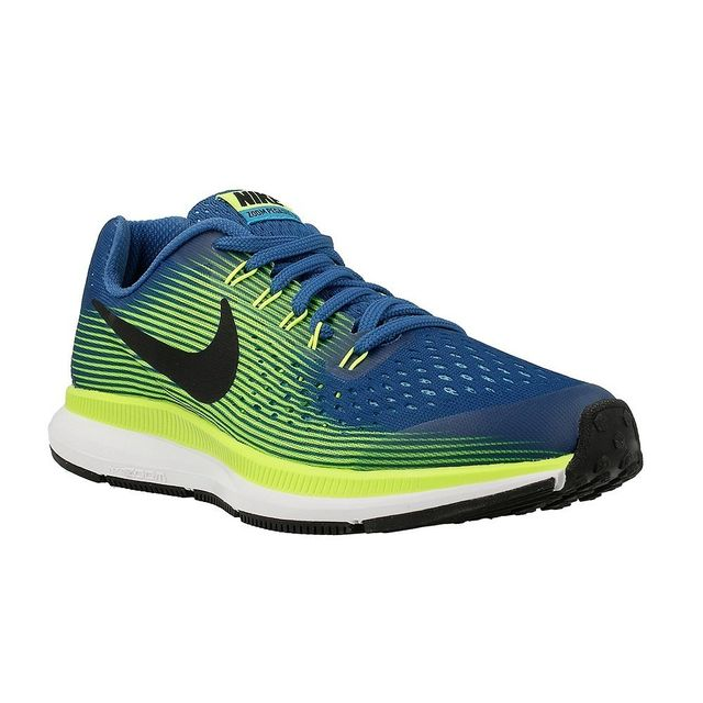 Nike Zoom Pegasus 34 Gs Bleu pas cher Achat / Vente Chaussures
