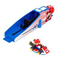 Jakks Pacific - Voiture + Lanceur Nintendo : Mario Kart 8 : Mario