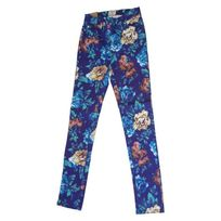 Insight - Pantalon Floral High N Mighty - Blue Floral