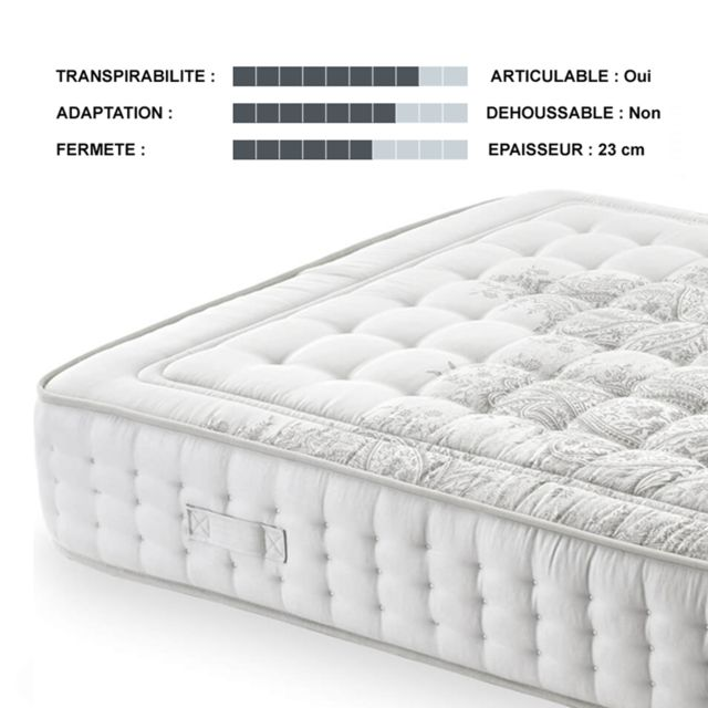 Nightcare Matelas BioLatex 140x200 cm