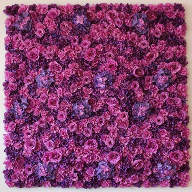 Wewoo Decoration Jardin Rose Violet Blooming Pivoine Hortensia
