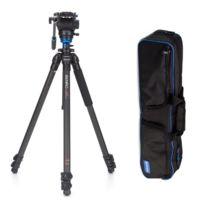 Benro - Trépied vidéo carbone Kit S Series Single leg C2573FS4