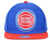 Mitchell And Ness - Casquette Detroit Piston Bleu / Rouge