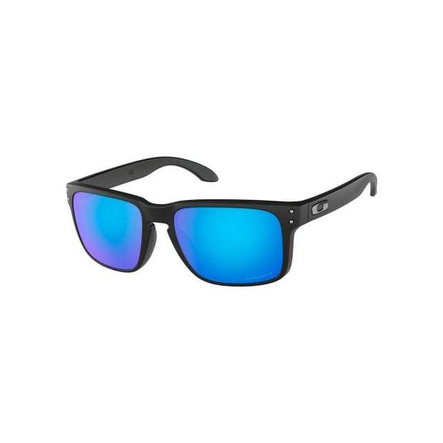 Oakley - Lunettes Oakley Holbrook O Matte Black avec verres Prizm Sapphire  Polarized a2f856afa31f