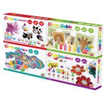 ALOYA - Set 4 activités loisirs créatifs - 7001