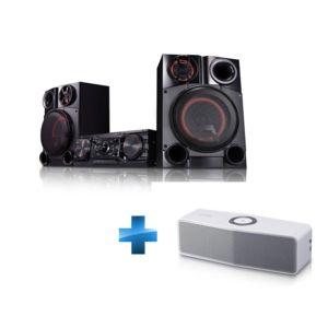 lg chaine hifi mini audio cm8360 enceinte bluetooth np7550w jumelable pas cher achat vente. Black Bedroom Furniture Sets. Home Design Ideas