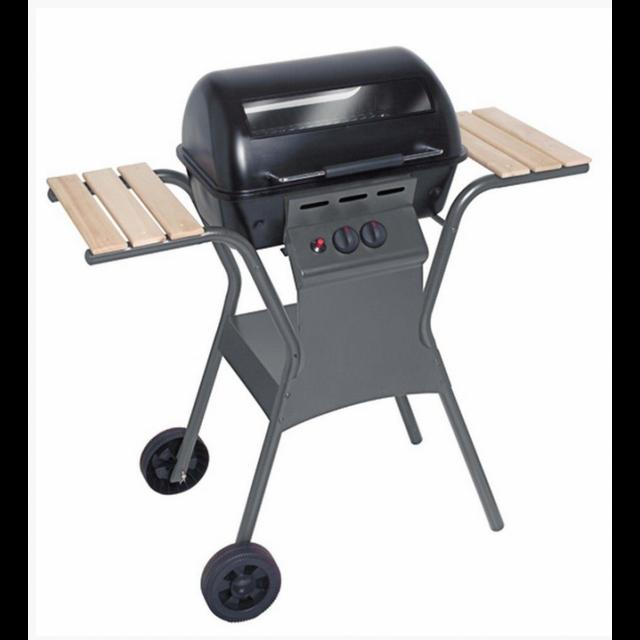 providus barbecue gaz 2 feux 5750w inclus pierre de. Black Bedroom Furniture Sets. Home Design Ideas