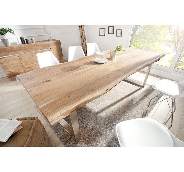 AKAZIO Bois DESIGN CHLOE à manger IV clair Table design QCBErexdoW