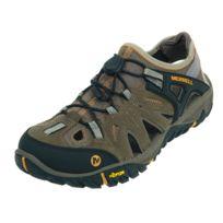 Merrell - Chaussures marche randonnées Allount blaz sieve beige Beige 68459