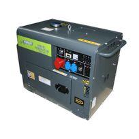 Varanmotors - Générateur Diesel 5.5kVA, 1 x 400V, 3 x 230V + Démarrage automatique Ats