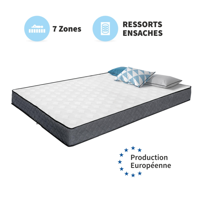 SELSEY Matelas LOUP GRIS HR
