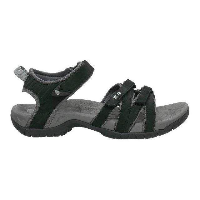 8e4396e5563 Teva - Sandales Tirra Leather noir femme - pas cher Achat   Vente Sandales  de marche - RueDuCommerce