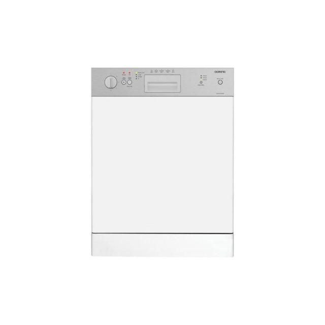 Oceanic Lave-vaisselle Encastrable 13 Couverts 5 Progs 49db Classe A+aa Depart Differe Bandeau Inox, L59,8 Cm X H 81,8 Cm