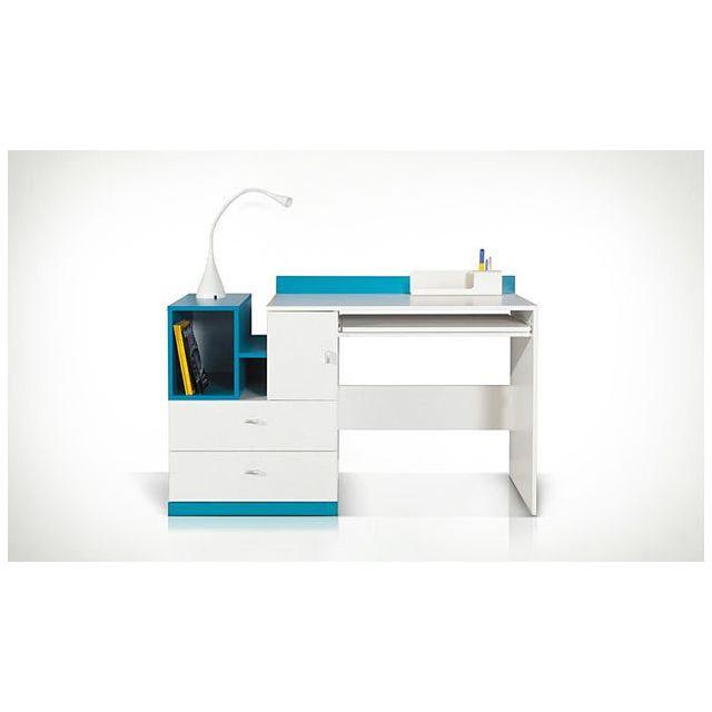 house and garden bureau enfant bleu jolly pas cher achat vente bureaux rueducommerce. Black Bedroom Furniture Sets. Home Design Ideas