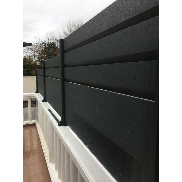 WilTec Cl/ôture Pare-Vue Feuillage 300cm x 150cm Habillage de Mur Brise-Vue B/âche Grillage